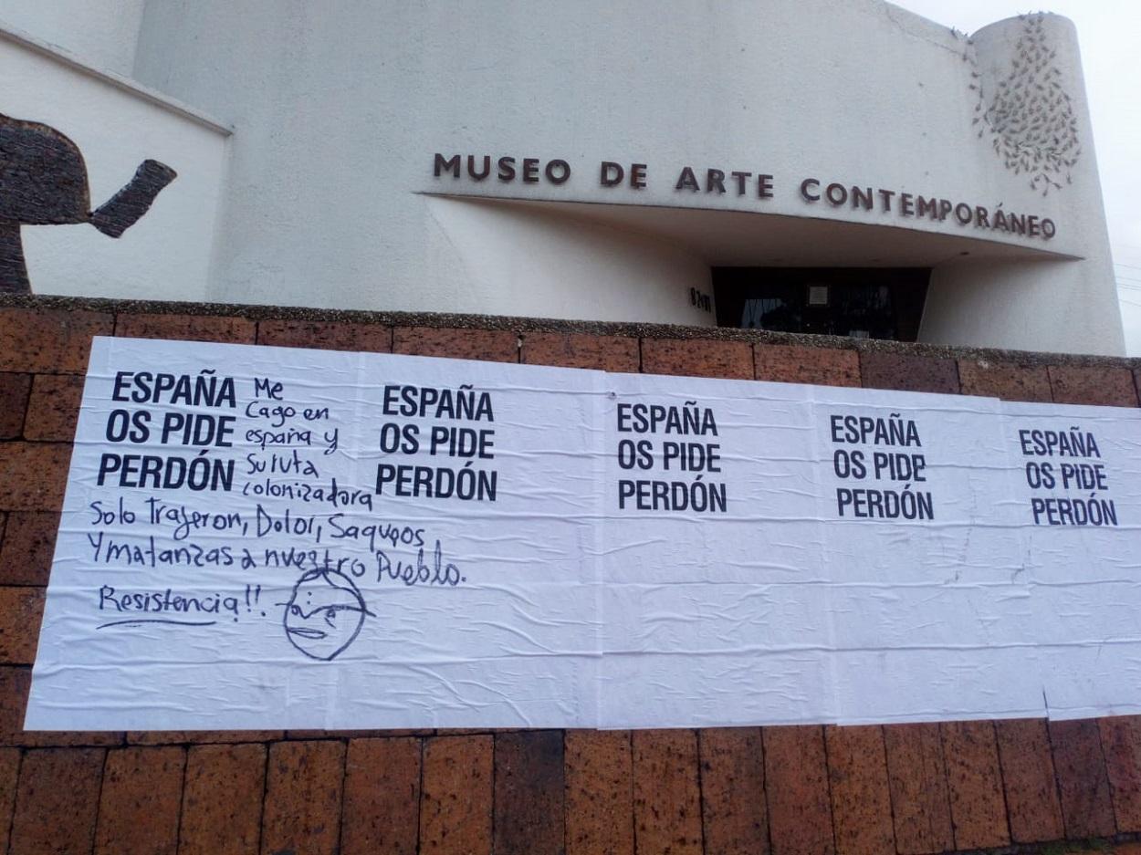'España os pide perdón'