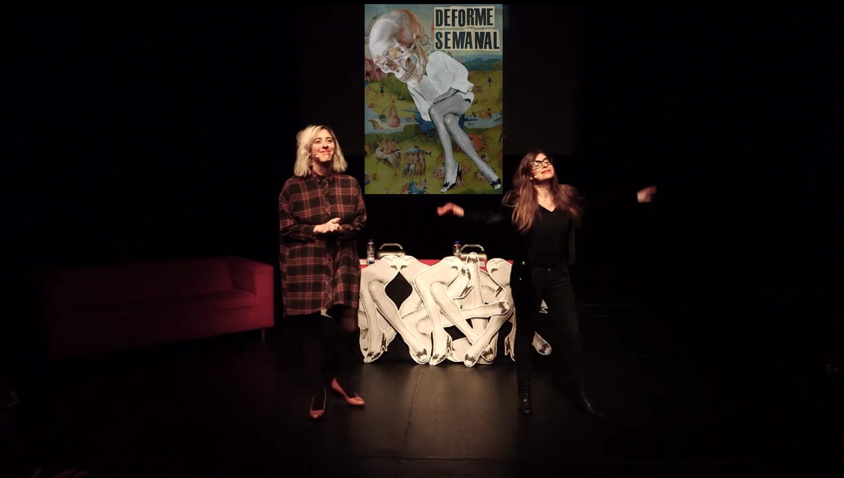 Lucía Lijtmaer e Isa Calderón dirigen y presentan 'Deforme semanal'