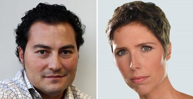 Jaime Jiménez y Marta Nebot.
