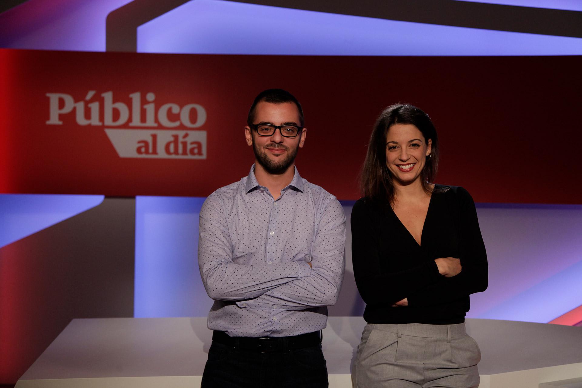 Elena Parreño y Pau Garcés presentan 'Público al día'
