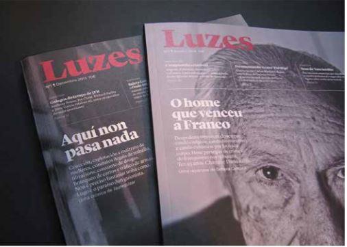 Portadas Revista Luzes