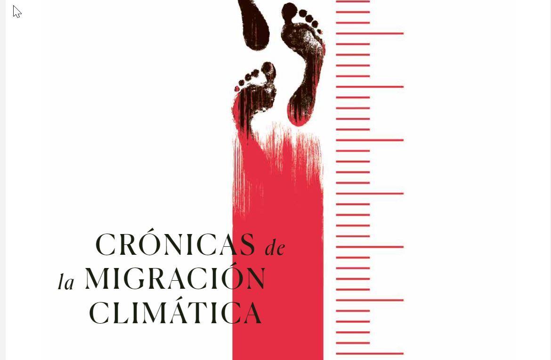 Detalle de la portada del especial 'Crónicas de la migración climática'.