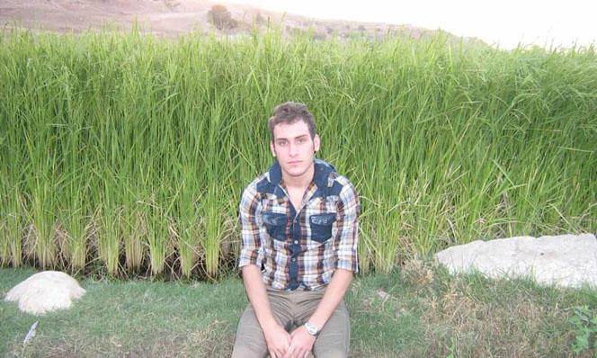 El joven iraní Fariborz Karami
