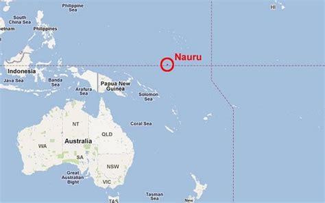 Isla Nauru en el Pacífico, la «Alcatraz II», desde donde es imposible huir