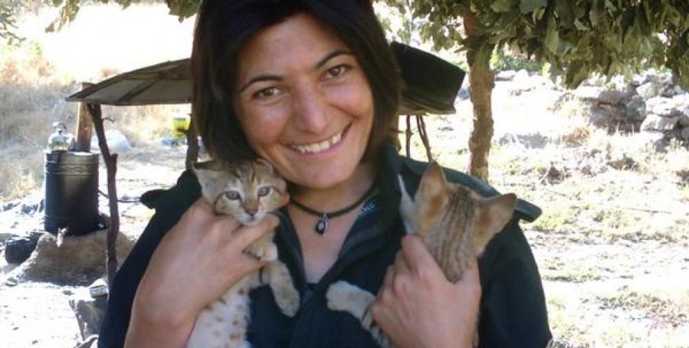 La partisana kurda-iraní Zeinab Jalalian