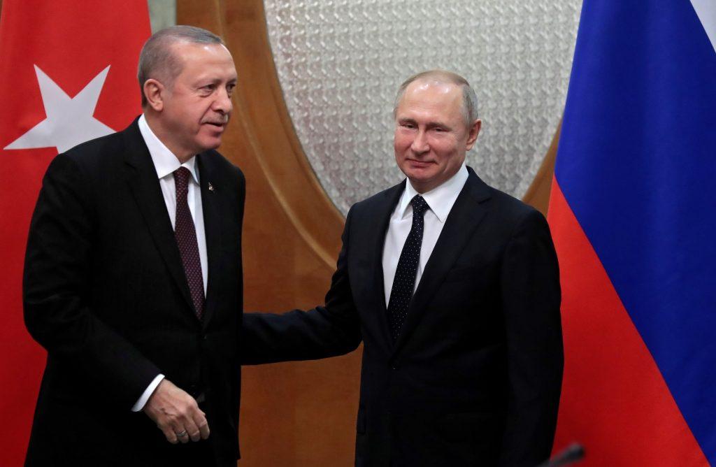 Erdogan y Putin. / EFE