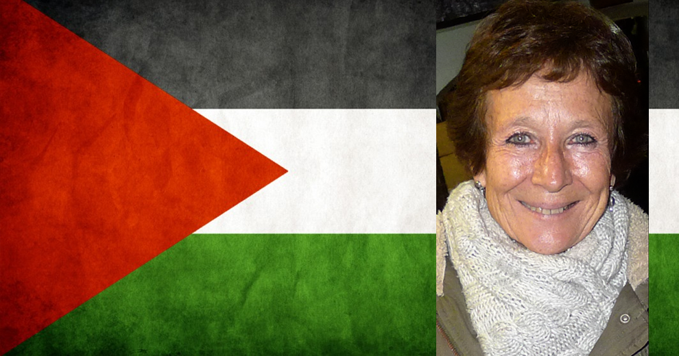 La activista Nines Maestro imputada por un presunto delito de financiación del terrorismo en Palestina.
