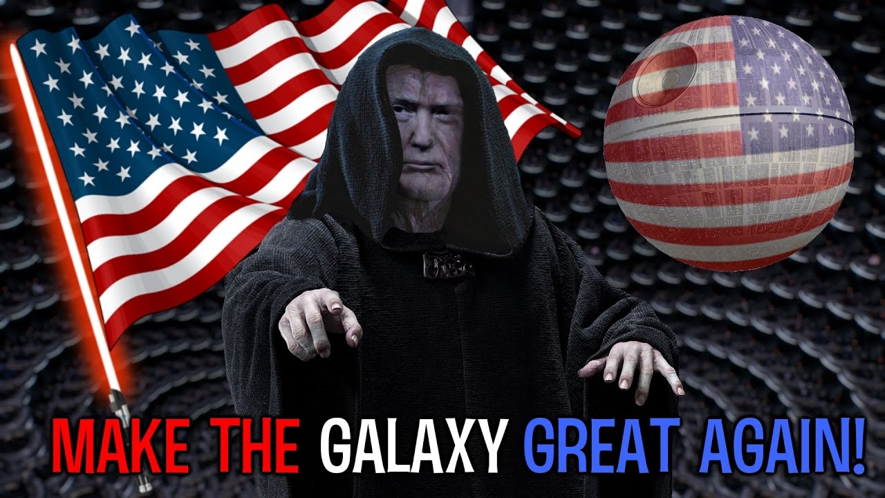 Make the galaxy great again!