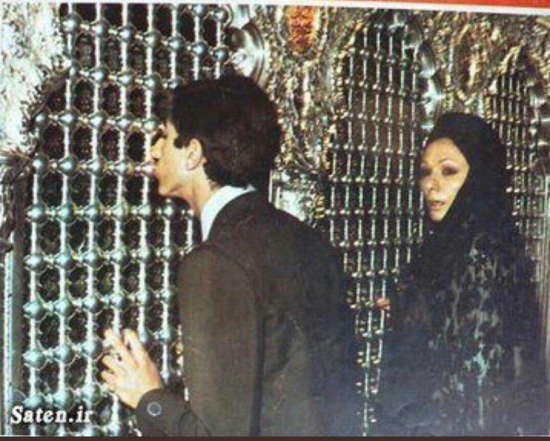 Visite de Farh Diba et du prince Reza au sanctuaire d'Emam Reza, Mashhad, 28 mai 1978