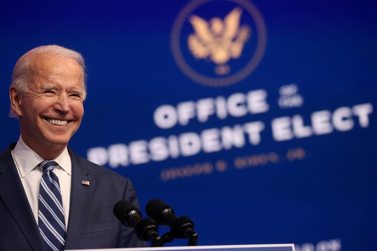 El presidente electo de EEUU, Joe Biden. REUTERS/Jonathan Ernst