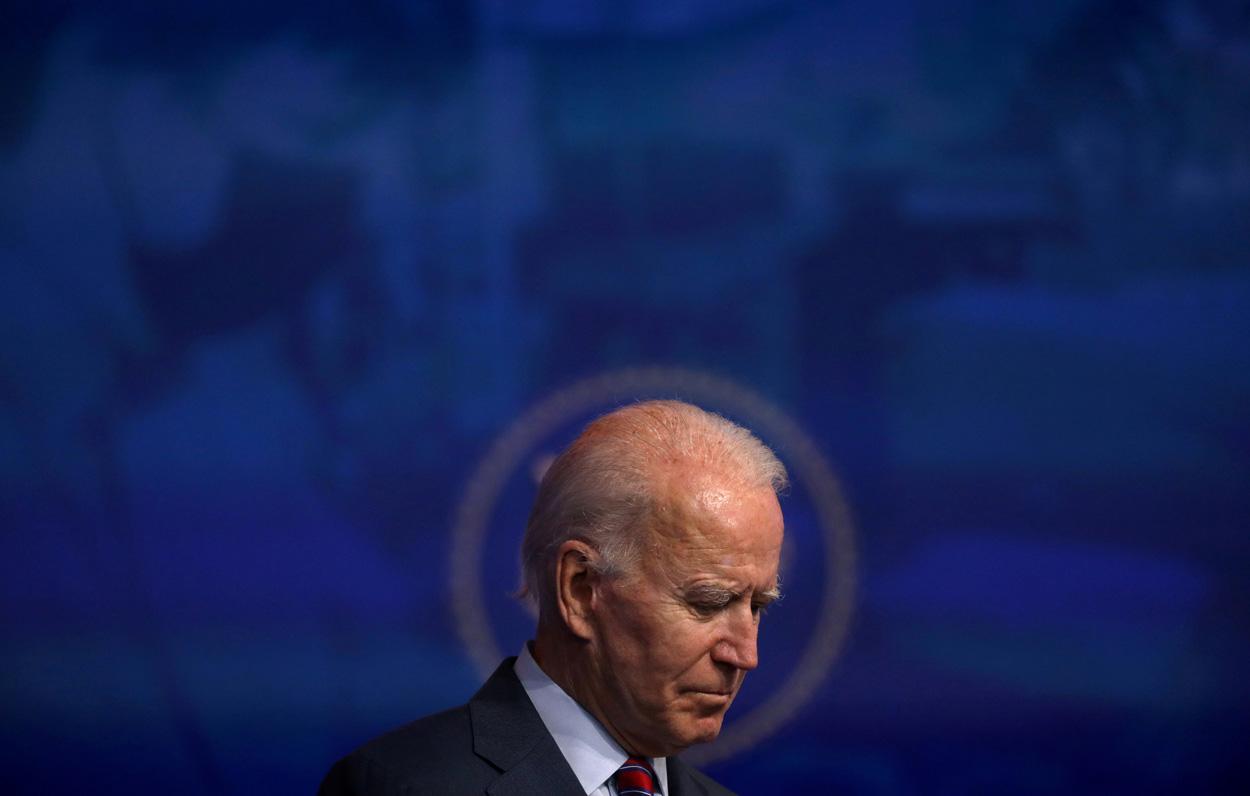 El presidente electo de EEUU, Joe Biden. - REUTERS