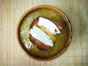 Receta sopa de cebolla