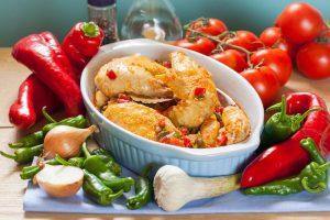 Receta pollo chilindrón