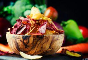 Chips de vegetales.
