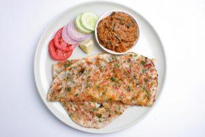 Tortilla masala india