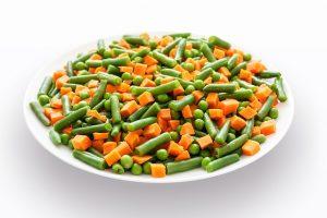 Mezcla de hortalizas.