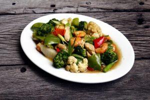 Chop suey de verduras.