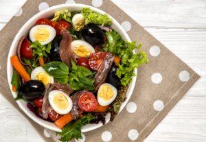 Receta de ensalada nizarda o niçoise