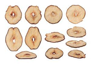 Chips de pera.