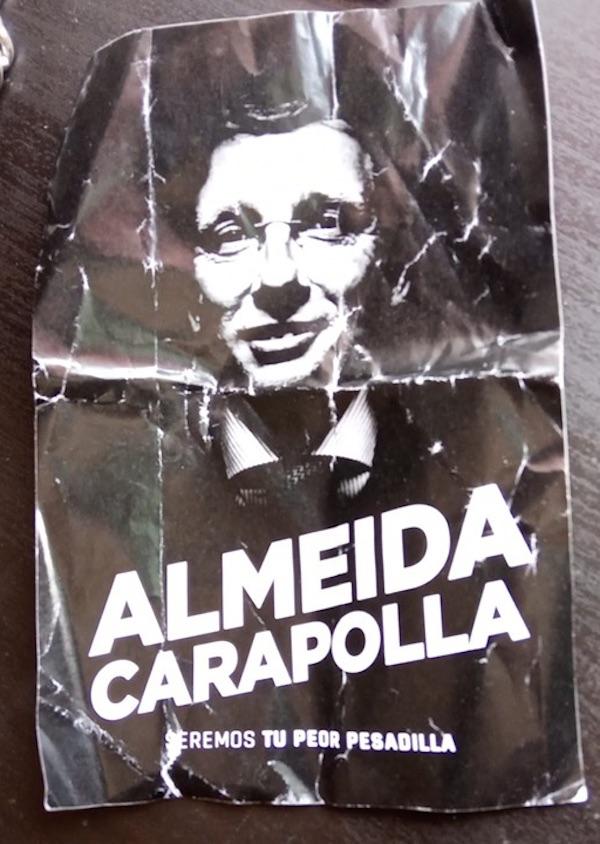 """Llamar """"carapolla"""" a Almeida no es sancionable admnistrativa o penalmente"""