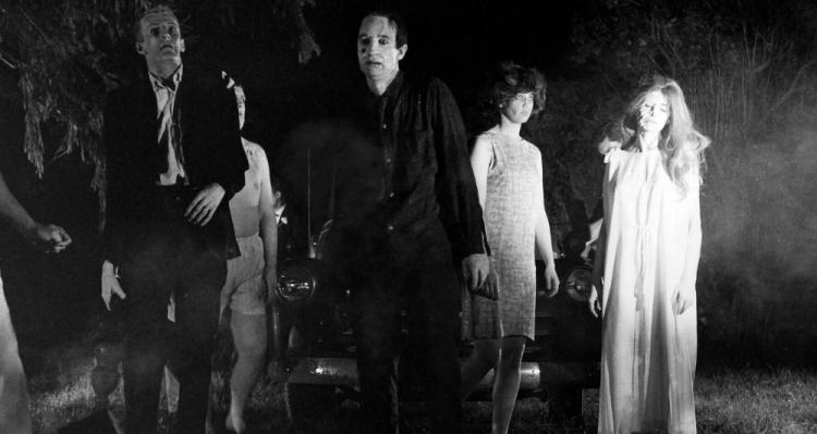 Imagen de la película 'La noche de los muertos vivientes' (1968).