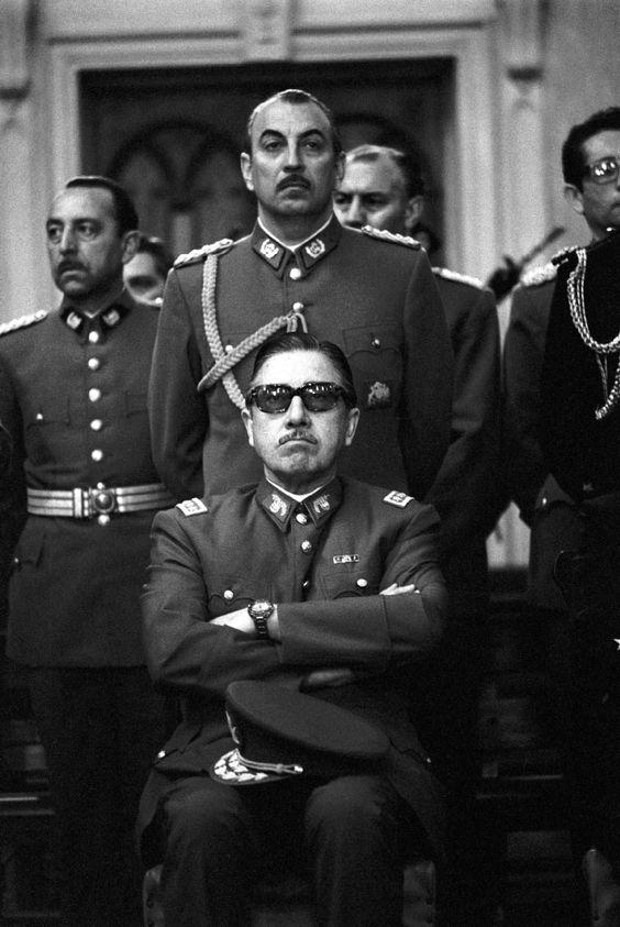 El dictador chileno Augusto Pinochet.