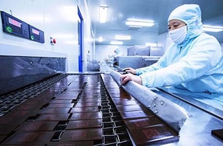 *Producción de Ejiaochino en la provincia de Shandong