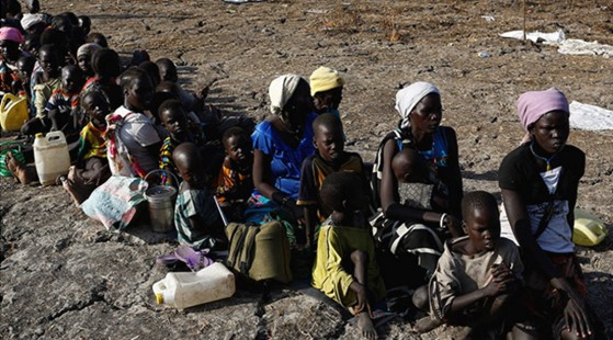 Foto de Modola, S. Sudán del Sur, 2017  Tomado de https://actualidad.rt.com/actualidad/233260-paises-onu-hambre-guerra-eeuu https://es.rt.com/4zzg