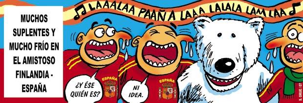 Finlandia-España