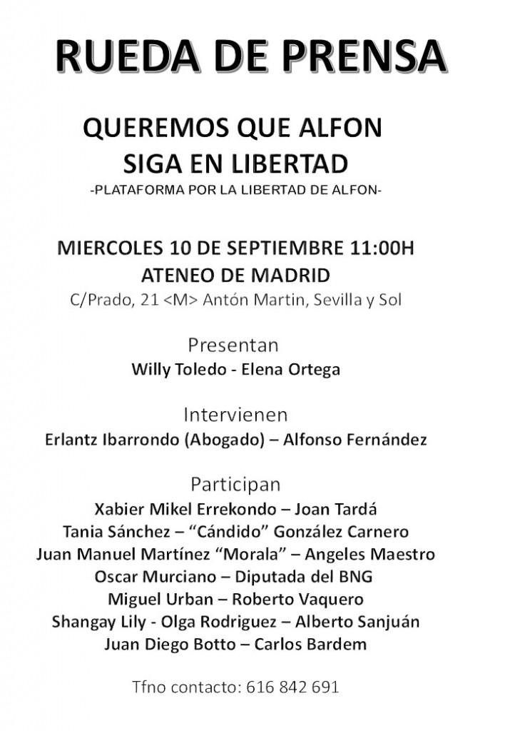 Alfon - Rueda de Prensa 2