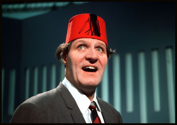 England. 1968. British comedian and entertainer Tommy Cooper.