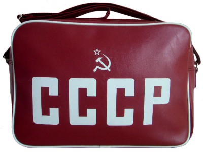 cccp-retro-print-bag-red