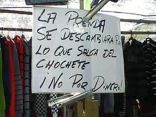 cartel chochete