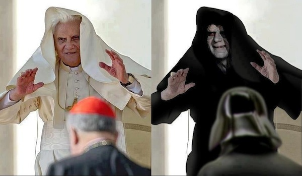 6.Ratzinger Z y Lord Sidious