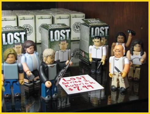 Muñequitos de 'Lost'