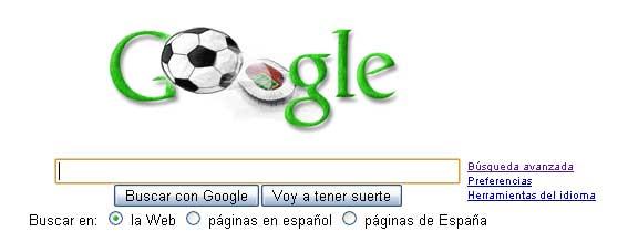 Google futbolero