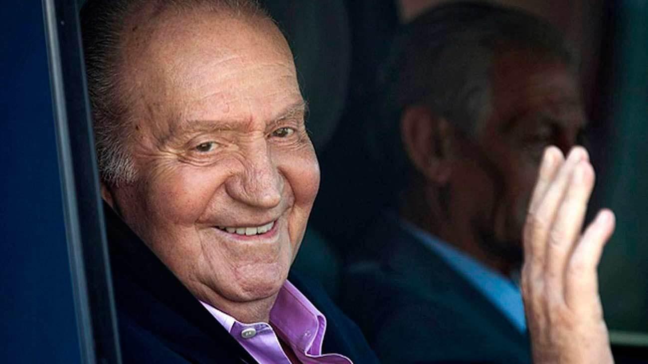 Juan Carlos I, en una imagen de archivo. EFE.