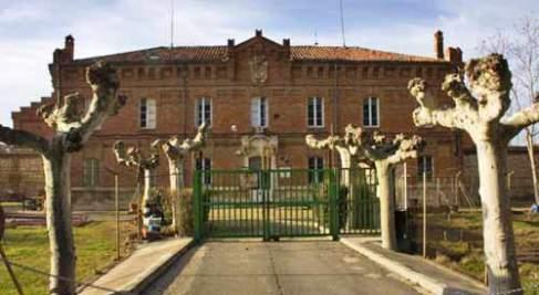 Exterior cárcel Palencia antes