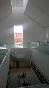 Museo policial en una galería de la cárcel