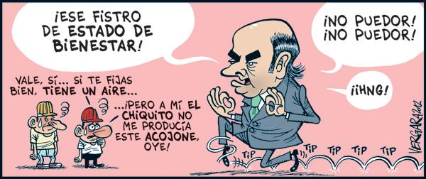 Viñeta de Vergara, 4 de enero de 2012