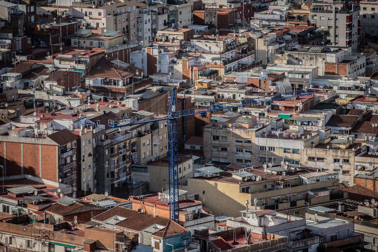 Vista panorámica de Barcelona. E.P.