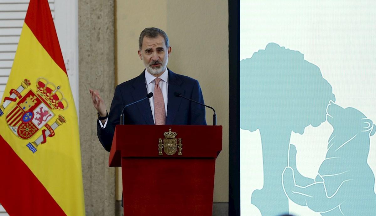 Fotografía de archivo de Felipe VI. - EFE