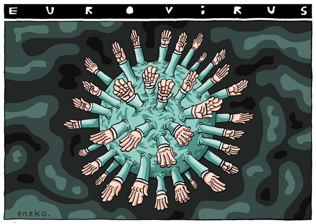 ¡Socorro… el eurovirus!