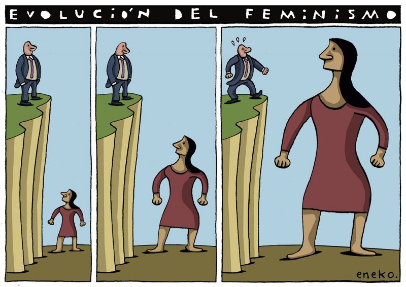 Así crece el feminismo