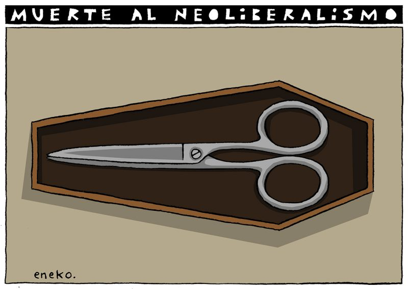 ¡Muerte al neoliberalismo!