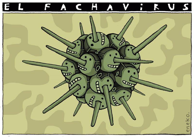 De cómo se contagia el fachavirus