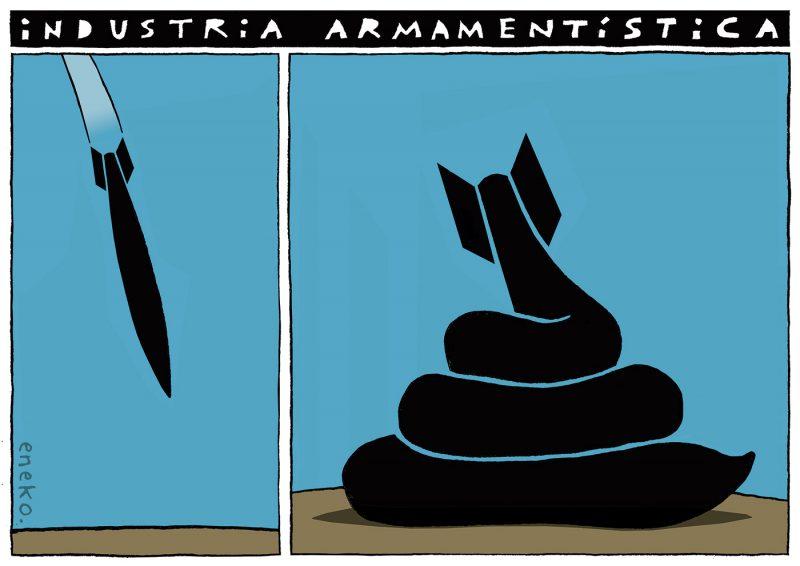 Sobre la industria armamentística
