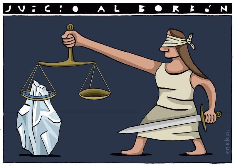 Juicio al Borbón