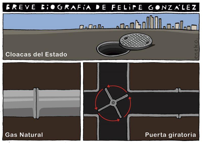 Brevísima biografía de Felipe González