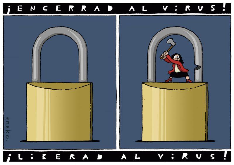Los derechos del virus